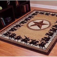 donnieann company traditions 726 western star berber area rug