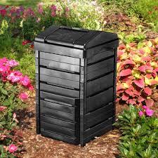 amazon com garden gourmet 82 gallon recycled plastic compost bin