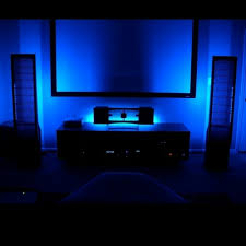 led lighting home theater accent light kits tv speakers