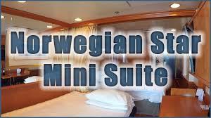 norwegian star mini suite cabin tour ncl 11002 youtube