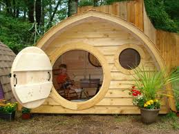 Hobbit Homes For Sale by Hobbit Hole Playhouse With Round Front Door And By Hobbitholes
