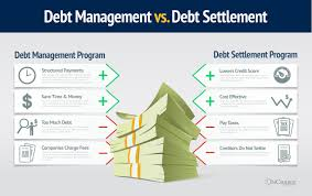 debt management vs debt settlement programs pros u0026 cons