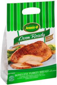 boneless turkey oven ready boneless turkey breast jennie o product info