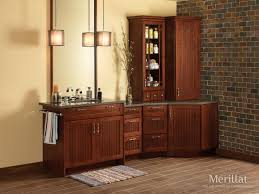 Cherry Bathroom Storage Cabinet by 34 Best Bathroom Cabinetry Images On Pinterest Bathroom Ideas