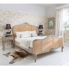 normandy rattan painted french bed luxury bed
