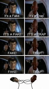 It S A Trap Meme - it s a fake vs it s a trap by mustapan meme center