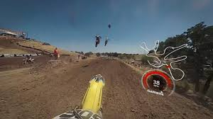 how to be a pro motocross rider garmin virb 360 hangtown mx practice lap with pro ronnie stewart