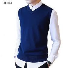 aliexpress buy sweater 100 cotton solid v neck casual