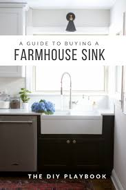 kitchen cabinet sink faucets what to consider when choosing a farmhouse sink the diy