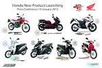 A.P. Honda เปิดตัวมอเตอร์ไซค์รุ่นใหม่ 7 รุ่น