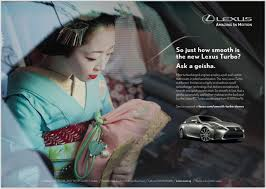 lexus in singapore integrated campaign lexus turbo