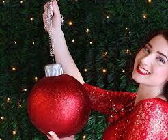 ball ornament purse