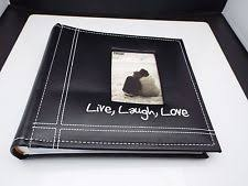 Photo Album For 5x7 Prints Pioneer Tr100 Navy Blue Deluxe 3 Ring Album 5x7 Prints Ebay