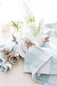 easter napkin rings diy easter bunny napkin ring