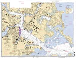 Boston Harbor Map by Index Of Charts