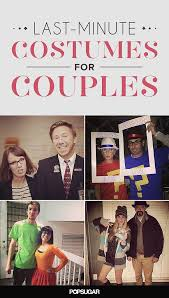 Easy Couple Halloween Costumes The 25 Best Last Minute Couples Costumes Ideas On Pinterest