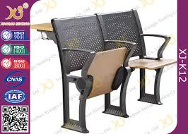 lecture tables and chairs custom folded seat folding student desk chair for lecture room