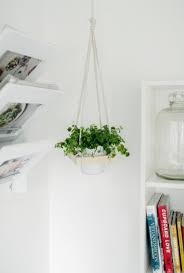 indoor hanging planters a set of 3 large opening round wall