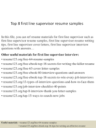 What Does A Job Resume Look Like Supervisor Security Officer Resume Introduction On A Research