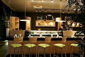 interesting sushi bar interior design with additional interior