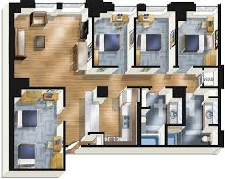 4 bedrooms apartments for rent student housing chicago stay at the buckingham