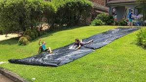 how to make water slides at home easy active fun
