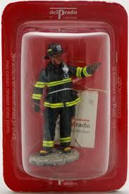firefighter figurines prado nyc 2001 lead soldier figure fireman
