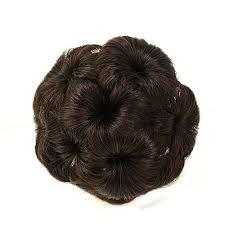 donut bun a r 100 human hair donut bun hair extension chignon hairpiece