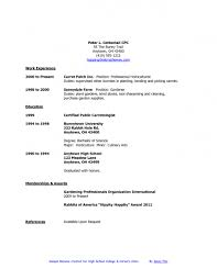 Resume For Nanny Sample by Free Resume Templates Nanny Samples Sample Examples With 89