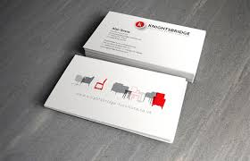 Business Cards Leeds Re Brand Development And Pr Knightsbridge Furniture