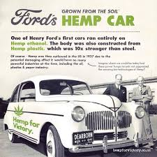 first car ever made by henry ford canada has developed a hemp car