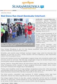 the red dress run in the news red dress runs