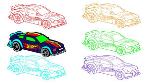 how to draw wheels cars learning colors with wheels cars