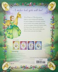sticker grand format princess charity sticker and activity book the princess parables