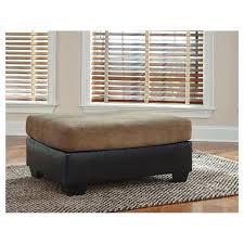 Mocha Ottoman 2020208 Furniture Armant Mocha Oversized Accent Ottoman