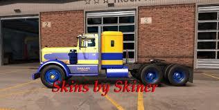 kenworth dealer kenworth 521 oakley custom skin mod american truck simulator mod