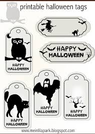 free printable halloween tags for your treat bags free