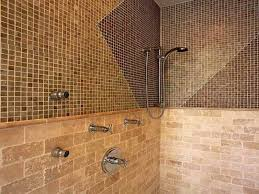 tiled shower ideas for bathrooms bathroom tile patterns shower with mozaic style bathroom tile
