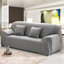 Living Room Furniture Covers by 2 Seater Sofa Cover Grey Centerfieldbar Com