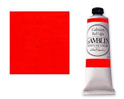 save on discount gamblin artists u0027 oil paint cadmium red light