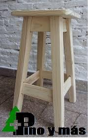 taburetes de pino taburetes de pino 60 cm 375 00 en mercado libre