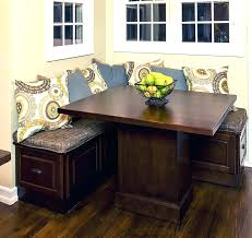 Corner Seating Bench Kitchen Dining Corner Seating Bench Table With Storage Chairs Seat
