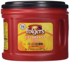 folgers breakfast blend ground coffee mild roast