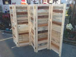 room divider made from reclaimed wood home decor trends wood