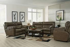 Recliner Sofa Sets Catnapper Milan Lay Flat Reclining Sofa Set Smoke Cn 4341 Sofa
