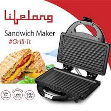 Which Sandwich Toaster Buy Lifelong Llsm118g 750 Watt 4 Slice Grill Sandwich Maker Black