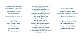 Matron Of Honor Poem Will You Be My Maid Of Honor Poem