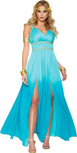Halloween Costumes Blue Aphrodite Costume Party U0027m