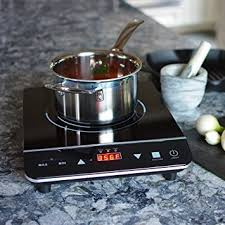 Induction Cooktop Amazon Amazon Com Induxpert Induction Cooktop Burner Lightweight