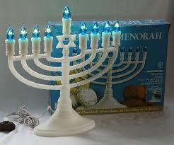 electric menorah white electric menorah with 9 blue bulbs chanukah deluxe rite